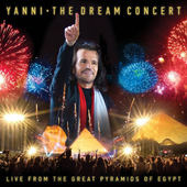 Yanni - Dream Concert: Live From The Great Pyramids Of Egypt (CD + DVD)