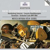 Reinhard Goebel - Braniborské koncerty č.1 - 3