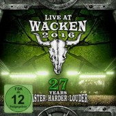 Various Artists - Live at Wacken 2016 - 27 Years (2CD+2Blu-ray, 2017) CD OBAL