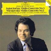Daniel Barenboim - PERLMAN / SAINT-SAËNS, WIENIAWSKI Violin Concertos