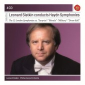 Joseph Haydn - Leonard Slatkin Conducts Haydn Symphonies (4CD BOX 2018)