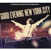 Paul McCartney - Good Evening New York City (2CD + DVD, 2009) CD OBAL