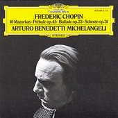 Chopin, Frédéric - CHOPIN 10 Mazurkas etc. Michelangeli