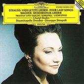 Giuseppe Sinopoli - R. STRAUSS, WAGNER Lieder / Studer, Sinopoli