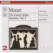 Mozart, Wolfgang Amadeus - Mozart The Great Violin Sonatas Henryk Szeryng
