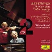 Beethoven, Ludwig van - BEETHOVEN Violinsonaten I Menuhin Kempff