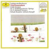 Beethoven, Ludwig van - BEETHOVEN Violinson. 5, 9 Kempff Menuhin