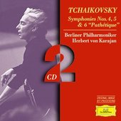 Tchaikovsky, Peter Ilyich - TCHAIKOVSKY Symphonien Nos.4,5&6 Karajan