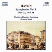 Joseph Haydn - Symphonies Vol. 8 Nos. 23,24 & 61
