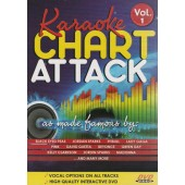Various Artists - Karaoke Chart Attack - Vol.1 (DVD, 2013)