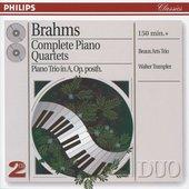 Brahms, Johannes - Brahms Complete Piano Quartets Beaux Arts Trio
