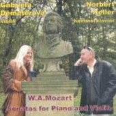 Wolfgang Amadeus Mozart / Gabriela Demeterová, Norbert Heller - Sonatas For Piano & Violin (Edice 2004)