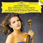 James Levine - BERG Violin Concerto, RIHM Gesungene Zeit / Mutter