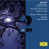 Mozart, Wolfgang Amadeus - MOZART 6 Divertimenti / Karajan