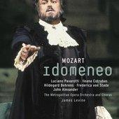 Mozart, Wolfgang Amadeus - MOZART Idomeneo Levine DVD-VIDEO