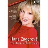 Hana Zagorová - Ty Nejlepší Z Nejlepších Hitů (3CD, 2010) DVD OBAL