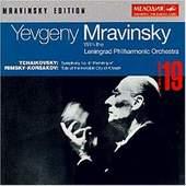 Petr Iljič Čajkovskij - Mravinsky Edition Vol.19