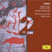 Grieg, Edvard - GRIEG Peer Gynt/Sigurd Jorsalfar Järvi