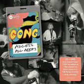 Gong - Access All Areas (CD+DVD, Edice 2018)