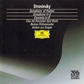 Stravinsky, Igor - STRAVINSKY Psalmen-Sinfonie Karajan