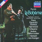 Puccini, Giacomo - Puccini La Bohème highlights Freni/Pavarotti/Ghiau