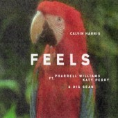 Calvin Harris ft. Pharrell Williams, Katy Perry & Big Sean - Feels (Picture Single, 2017) - Vinyl