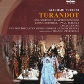 Domingo, Plácido - PUCCINI Turandot Levine DVD-VIDEO