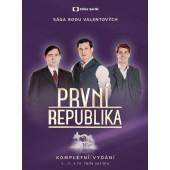 Film/Seriál ČT - První republika - Komplet (14DVD, 2018)