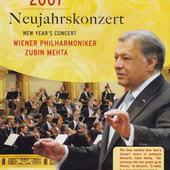 Vídenští Filharmonici - Novoroční Koncert 2007 (DVD)