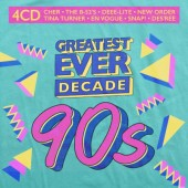 Various Artists - Greatest Ever Decade: The Nineties (4CD, 2021)