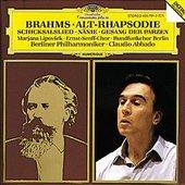 Brahms, Johannes - BRAHMS Alt-Rhapsodie Lipovsek Abbado