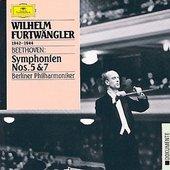 Berliner Philharmoniker - BEETHOVEN Symphonies Nos. 5  + 7 / Furtwängler
