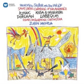 Itzhak Perlman - Peter And The Wolf / Le Carnaval Des Animaux / Mario Cavaradossi