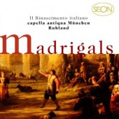 Capella Antiqua München, Konrad Ruhland - Early Italian Madrigals / Frühe Italienische Madrigale (1998)